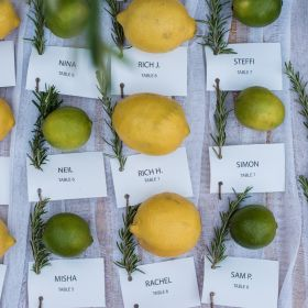 Lemon Wedding in Chalkidiki